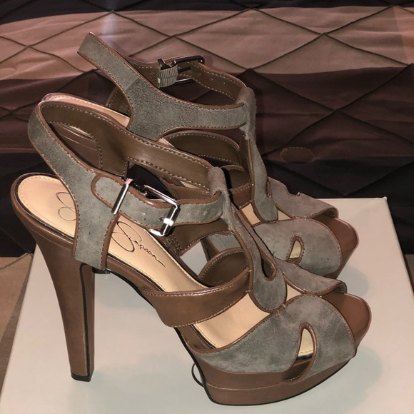 Comfort Shoes Women's Shoes Beautiful Jessica Simpson High Heel Sandals Beautiful And Charming